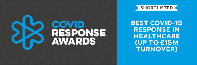 WingFactors shortlisted for Best Covid Response in Healthcare Award